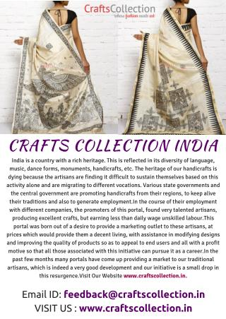 CREATING A NEW ERA OF INDIAN CULTURE - WWW.CRAFTSCOLLECTION.IN
