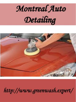 Montreal Auto Detailing
