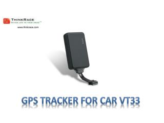 GPS Tracker For Car VT33