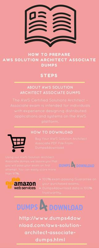 AWS Solution Architect Associate Exam Dumps Question Answers
