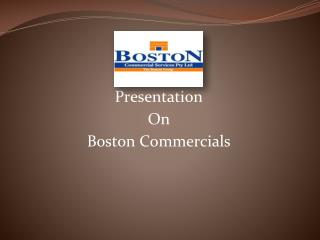 About Boston Commercial Services Pty Ltd