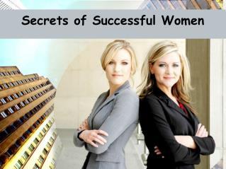 Secrets of Successful Women