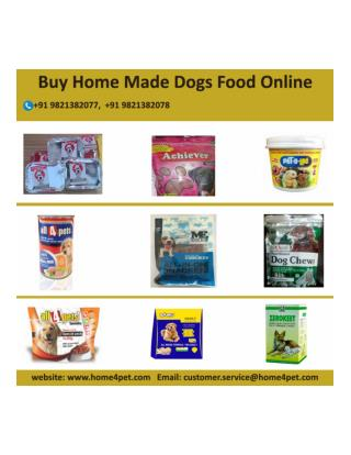 Buy Home Made Dogs Food Online