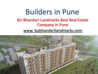 Builders in Pune - Up-coming & Ongoing Projects in Pune