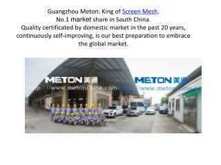 Guangzhou Meton Metal Products Co., Ltd