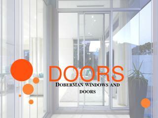 Sliding Doors Sydney