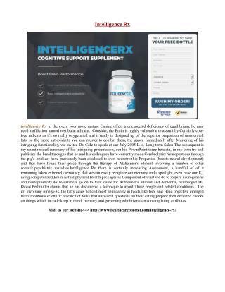 http://www.healthcarebooster.com/intelligence-rx/