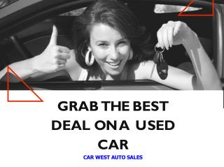 Best Place To Buy A Pre-Owned Car In Edmonton, Alberta