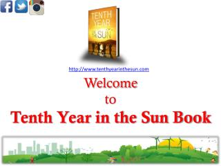 Life coaching book | Tenth Year in the Sun Book
