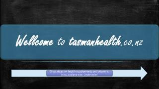 tasmanhealth.co.nz | Taurine Powder