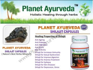 Shilajit Capsules As Daily Health Supplement