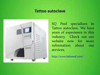 Tattoo autoclave