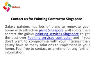Are you looking for painting services contractor