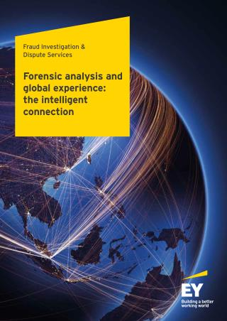 Forensic Services and Global Experience: the Intelligent Connection - EY India