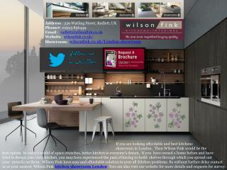 Best Kitchen Showrooms in London - Wilson Fink