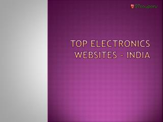 Top 5 electronics websites