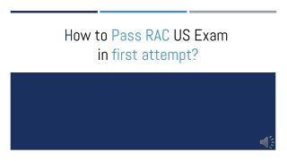 RAC US Questions Answers