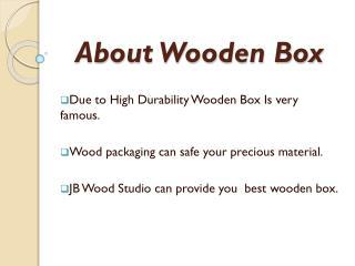 Buy Khaya Mahogany wooden boxes at affordable price