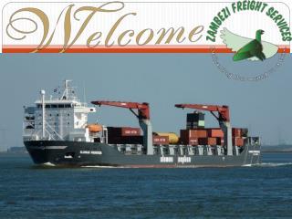 Shipping to Zimbabwe