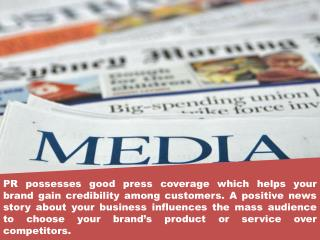 Get the Best Branding Strategy-PR Agency
