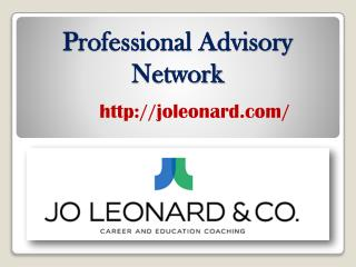 Professional Advisory Network - joleonard.com