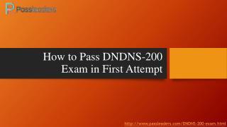 Passleaders DNDNS-200 Practice Exam