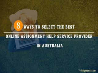 8 Ways to Select a Top Quality Service Provider in Australia