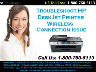 Troubleshoot HP DeskJet Printer Wireless Connection Issue with Router