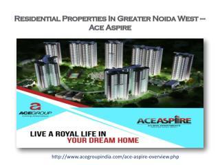 Residential Properties in Greater Noida West
