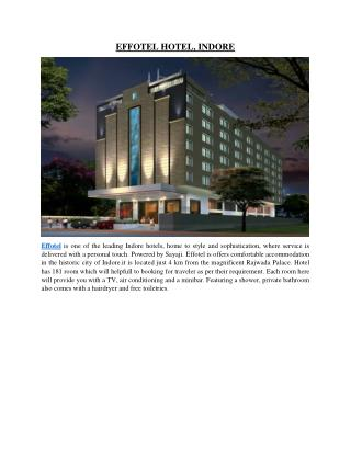 Effotel Hotel-Indore