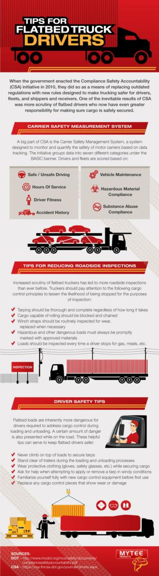 Tips for Flatbed Truck Drivers