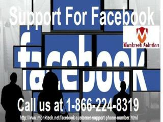 Need Facebook Support just make us call at 1-866-224-8319