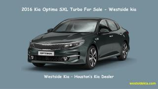 Kia Optima Lx Turbo For Sale