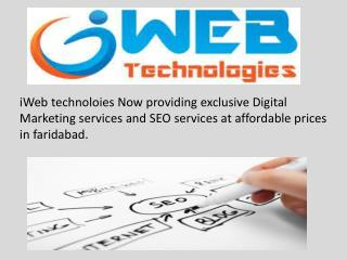 Digital Marketing Services in India |iWeb Technologies