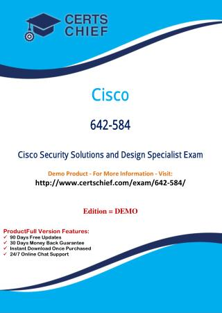 642-584 Professional Certification Test