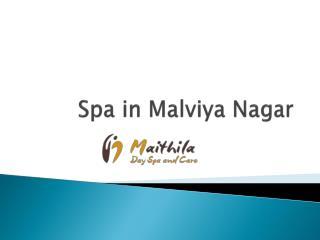 Spa in Malviya Nagar