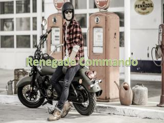 Renegade Commando - Cruiser Bike Price in India