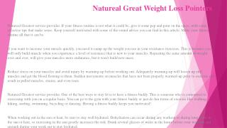 Natureal Get a Brand-New Body by Following This Great Guide!