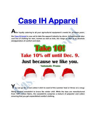 Case IH Apparel