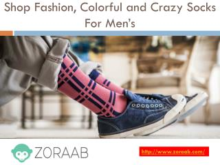 Fashion, Colorful and Crazy Socks