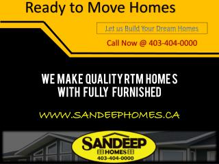Ready To Move Homes