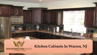 Kitchen Cabinets In Warren, NJ