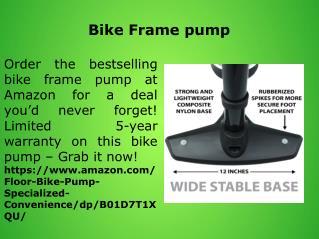 Bike Frame pump