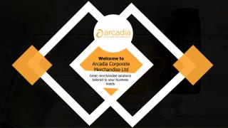 Merchandise Web Stores - Arcadia Corporate Merchandise Ltd