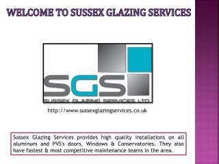 UPVC Doors - Sussex Glazing Services