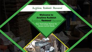Junk Removal Sydney - Anytime Rubbish