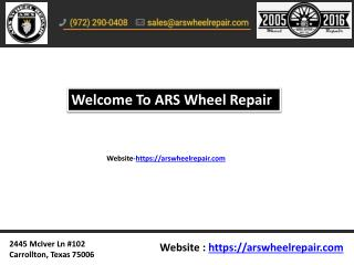 Find alloy wheel repair