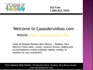 Cabin rentals ruidoso in new mexico
