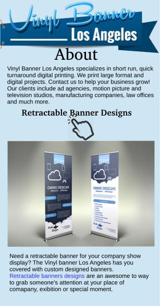 Retractable Banner Designs