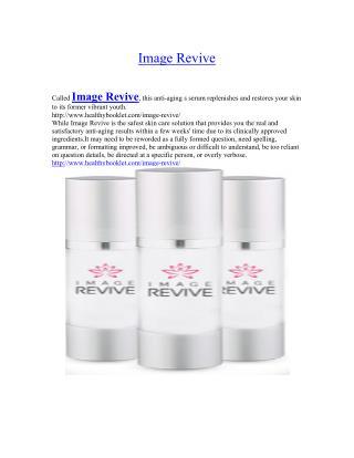 http://www.healthybooklet.com/image-revive/